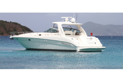 """Sunshine Pearl"" Sea Ray 460 Sundancer"